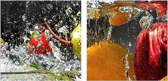 Kunstdruck Glasbilder zum Aufh/ängen bereit Bilder Bild auf Glas Einteilig GAB90x30-3914 Bildnummer 3914 H/öhe: 30cm Breite: 90cm