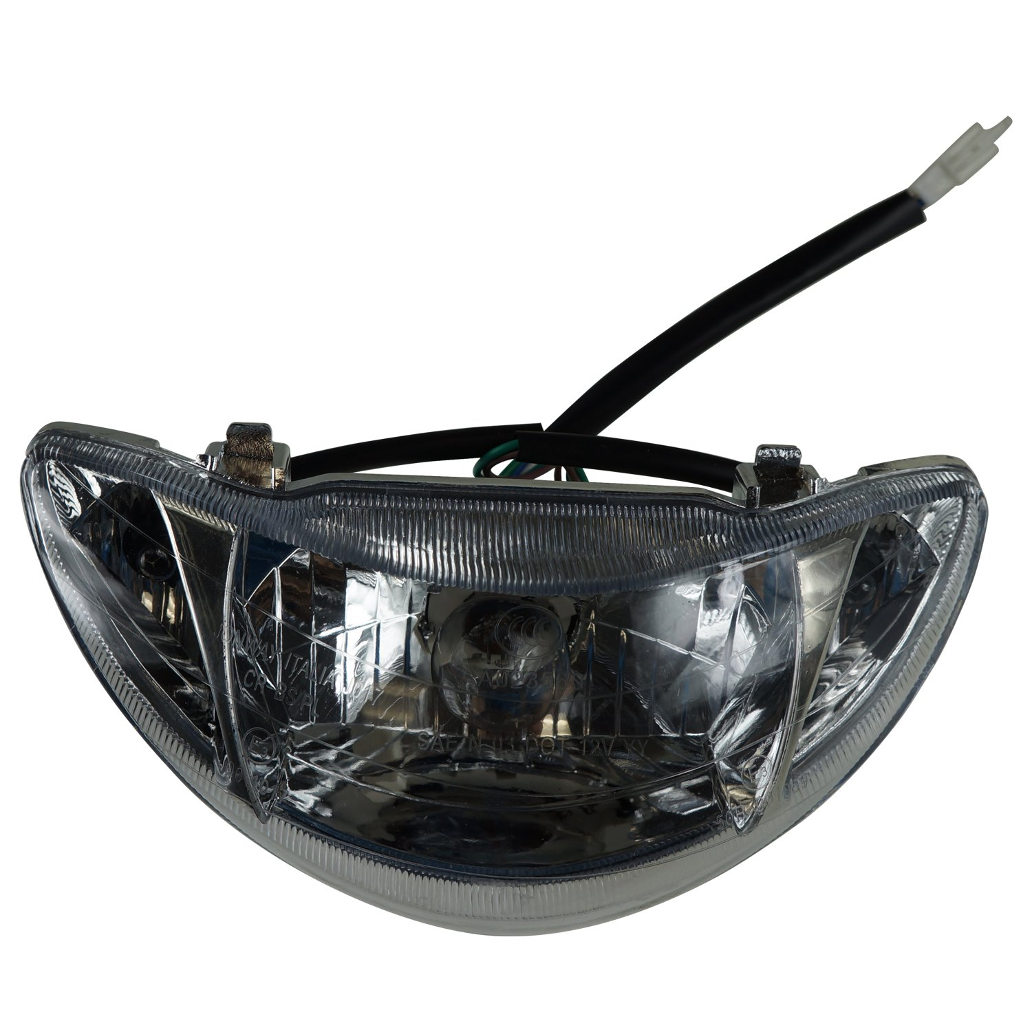 Headlight Assembly for 49cc 50cc Taotao Icebear Roketa Jonway Peace Scooter  Moped