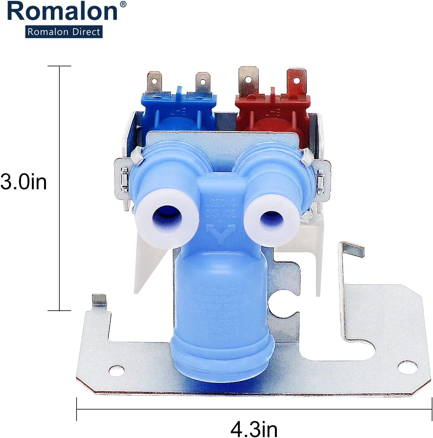 For GE Kenmore Refrigerator Double Water Inlet Valve PM-WR57X10026 PM-AP2071738