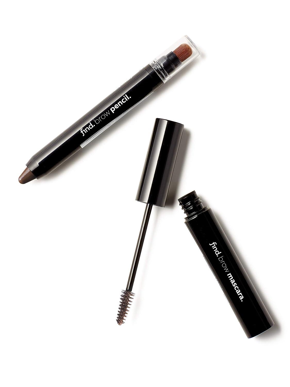 Enlumineur de sourcils avec pinceau kabuki n.2 + Mascara pour sourcils n.2 Toffee Mania FIND