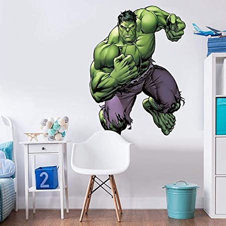 Extra Large The Incredible Hulk Character Life Size Wall Art Big