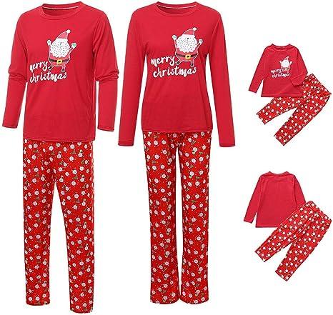 Family Mum Dad Kids Christmas Elf Festive Xmas Pyjamas PJ Set Made By Elves