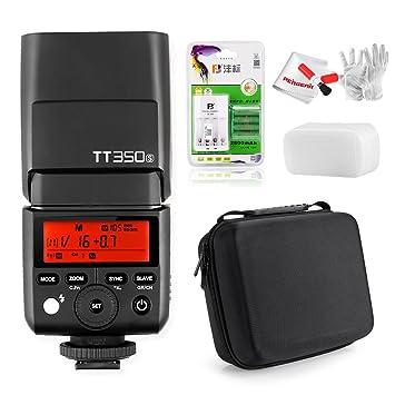 Godox TT350S 2,4 G TTL Flash Speedlite con batería y ...