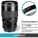 Neewer Kit de Filtre Caméra Objectif (67mm)