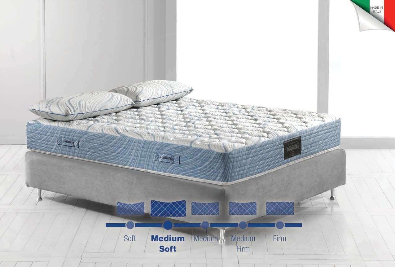 Materassi Memory Foam Opinioni.Amazon Com Magniflex Magnigel Dual 10 Queen Mattress Kitchen