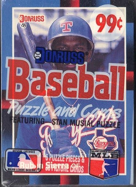 Amazoncom 1988 Donruss Baseball Puzzle And Cards Sports