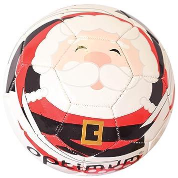 Optimum Optimale Jungen Weihnachten Santa Fussball Amazon De