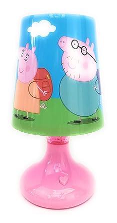 Couleurs De Mini Peppa Chevet Lampe Pig Led Change Ar4j53l