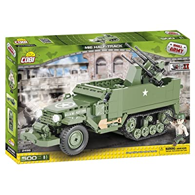 COBI Small Army M16 Half-Track Anti-Aircraft Gun: Toys & Games