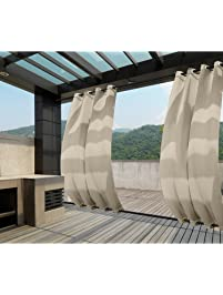 Macochico Outdoor Blackout Windproof Curtains.