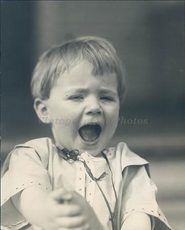 amazon com 1921 photo spring face little boy child shocked