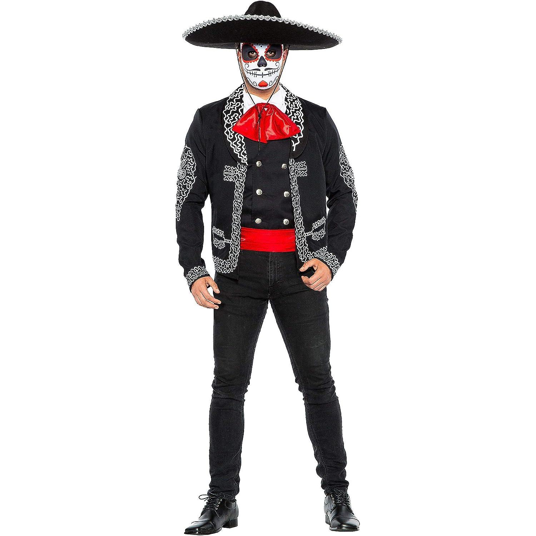 Amazon.com: Disfraz tradicional de Día de los Muertos para ...