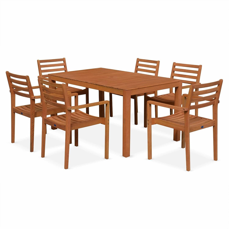 table table de jardin eucalyptus fsc meilleures id es pour la conception et l 39 ameublement du. Black Bedroom Furniture Sets. Home Design Ideas