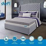 Durfi 10-Inch Orthopedic Queen Size Memory Foam Mattress in Grey (78x60x10 Inch, Memory Foam)