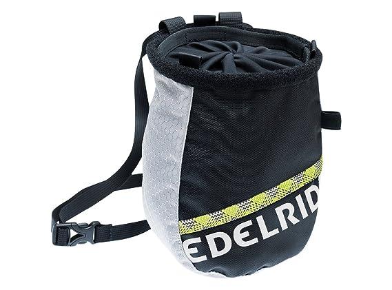 Amazon.com: Edelrid Chalk Bag Cosmic Twist, color gris y ...