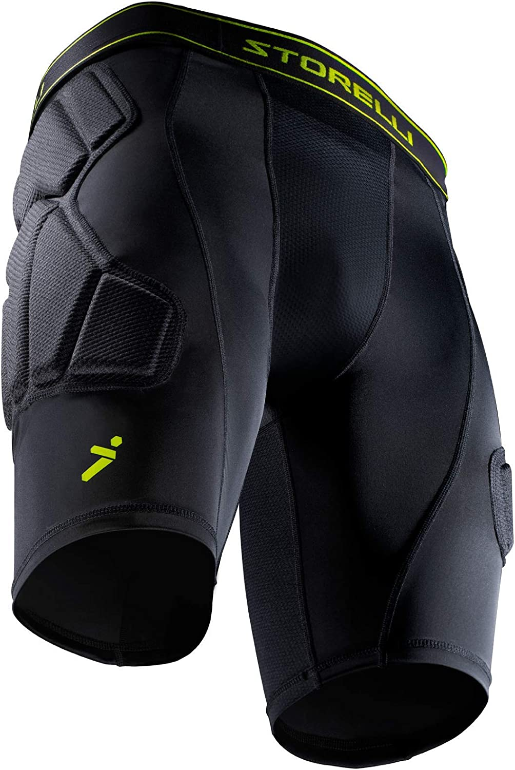 Storelli BodyShield Unisex Goalkeeper Sliders | Padded Soccer Sliding Undershorts | Enhanced Lower Body Protection