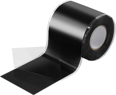 3 ROULEAUX PVC Noir Isolation Bande 18 mm x 15 m chaque À faire soi-même électrique