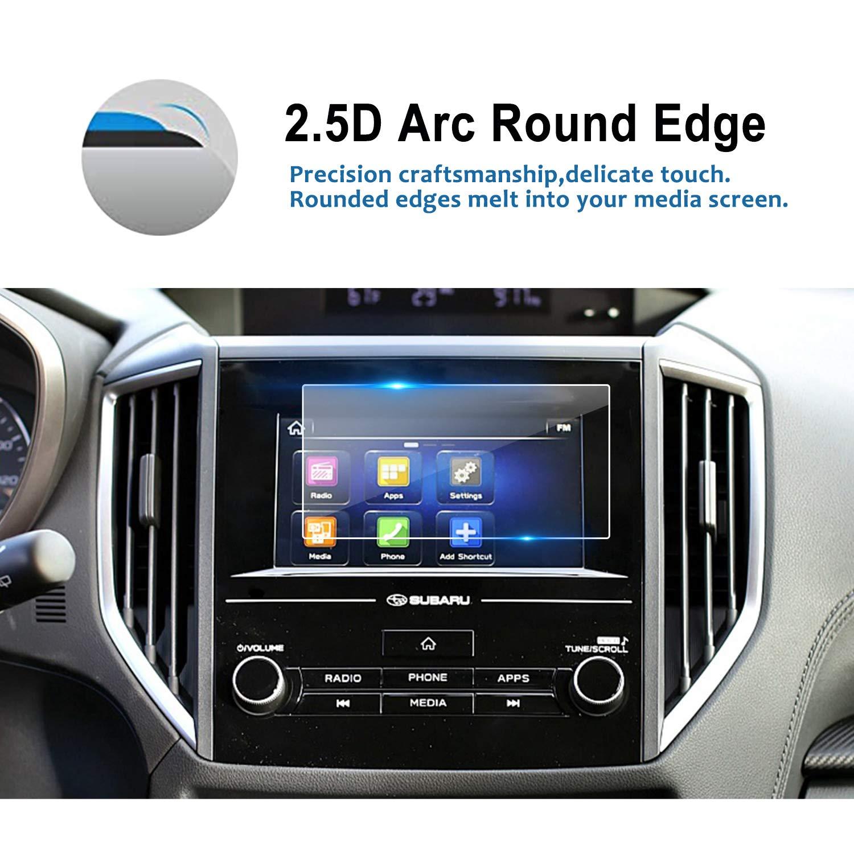 6.5-Inch YEE PIN Subaru Crosstrek 2020 Screen Protector for 2018-2020 Subaru Crosstrek Starlink Center Control Touch Screen Car Navigation Display Glass Protective Film Anti-Scratch High Clarity