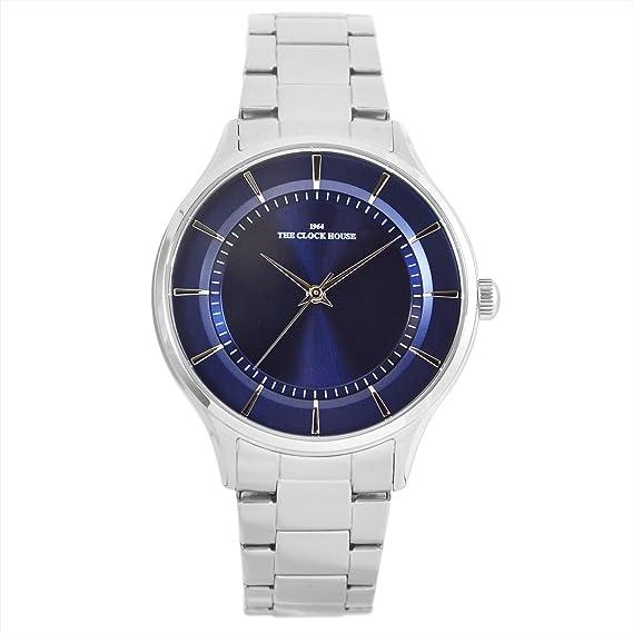 [ザ・クロックハウス] ビジネス フォーマル アナログ 防水 腕時計 おしゃれ MBF5001-NV1A メンズ ブルー