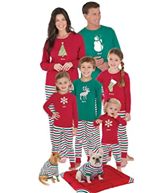 u wardrobe matching family christmas pajama set cute sleepwear mom xl