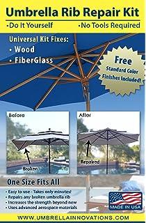 Good Patio Umbrella Rib Repair Kit For Wood
