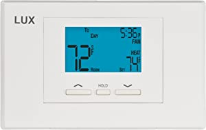 Lux Thermostat Program 5-2 day with selectable smart recovery, universal compatability