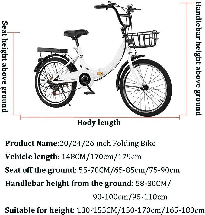 Compacta For Bicicleta Mujer Con La Bandeja Trasera, Cesta Grande ...