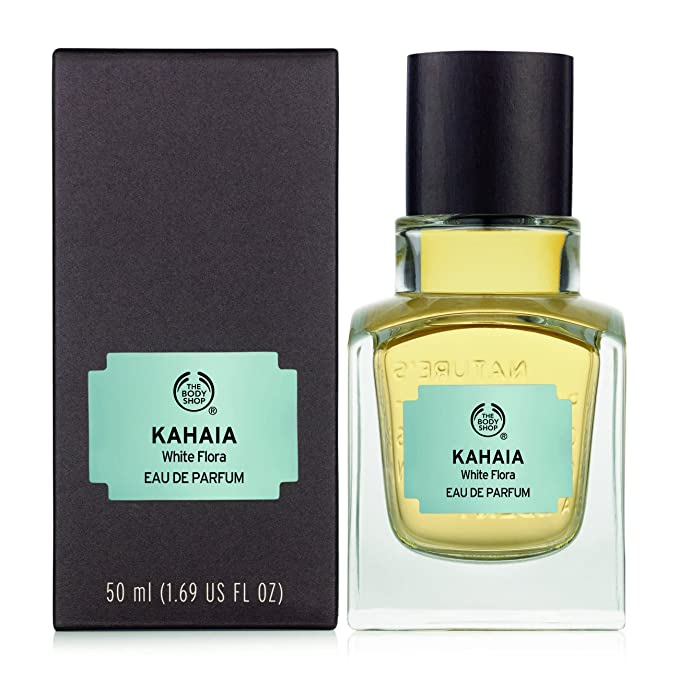 The Body Shop Kahaia - Flora blanca - Eau de Parfum - 50 ml: Amazon.es: Belleza