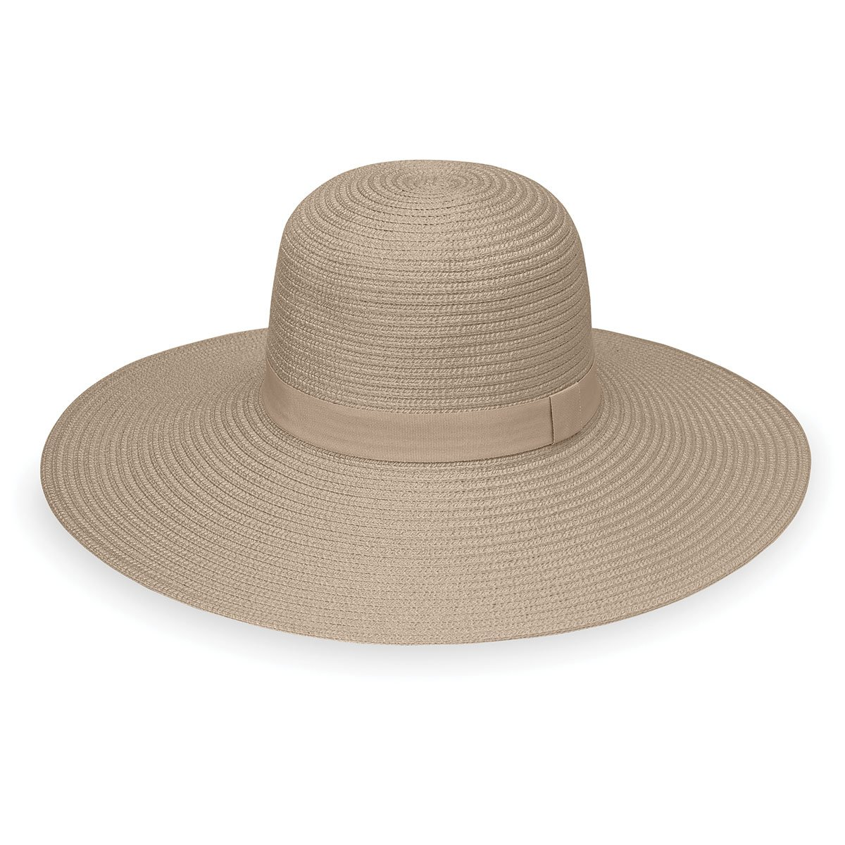 Wallaroo Hat Company Women's W Collection Aria Hat - UPF 50+ - Packable, Taupe