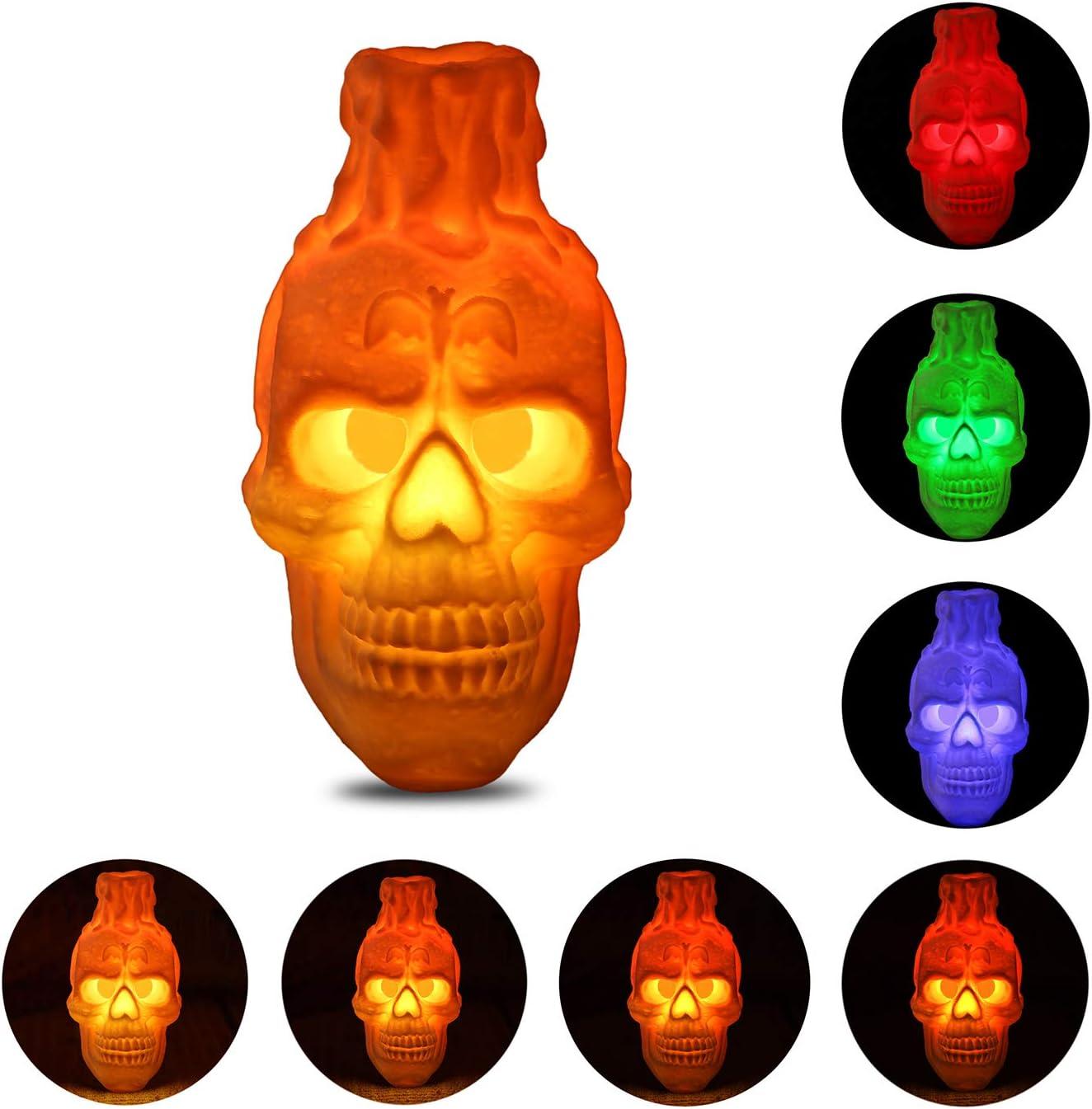 Neanderthal Skull 3D Printed Accent Lamp