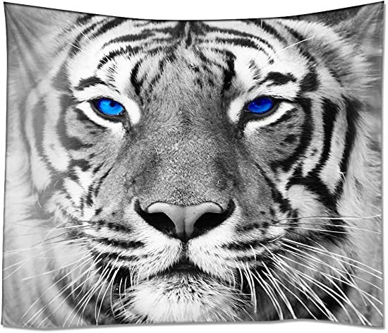 YISUMEI Tapestry Home Decorations Art Wall Hanging Hippie Tapestries 60 x 90 Tiger Leopard