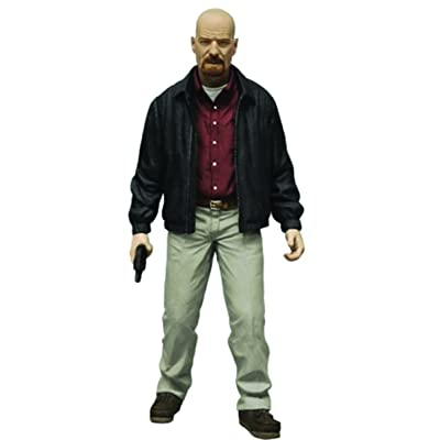 "Mezco Toys Breaking Bad: Heisenberg (Red Shirt Variant) 6"" Action Figure: Toys & Games"