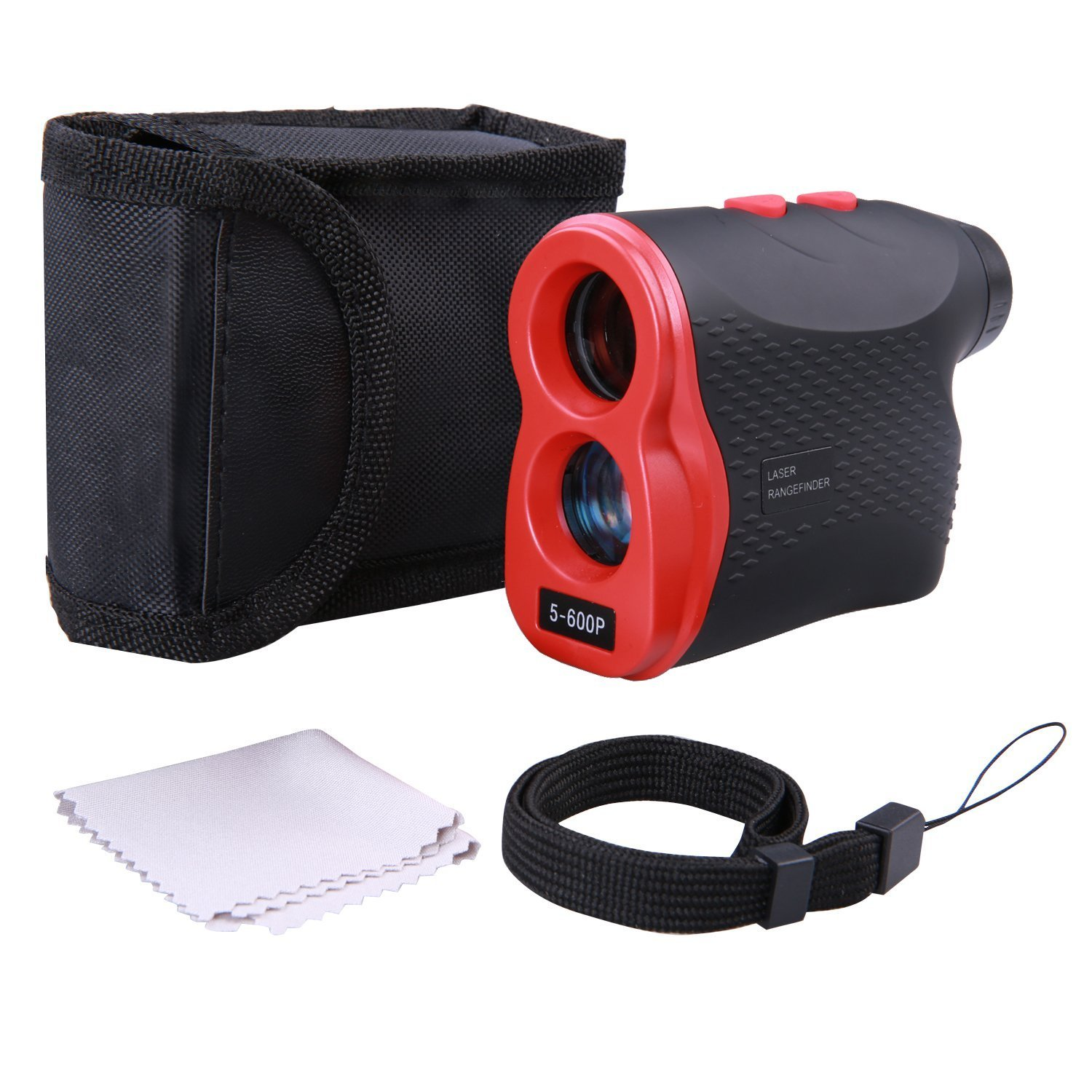 Golf Rangefinder, Range Finder 600 Yards with Golf Distance for Horizontal Distance Height Speed Measurement, Golf Rangefinder