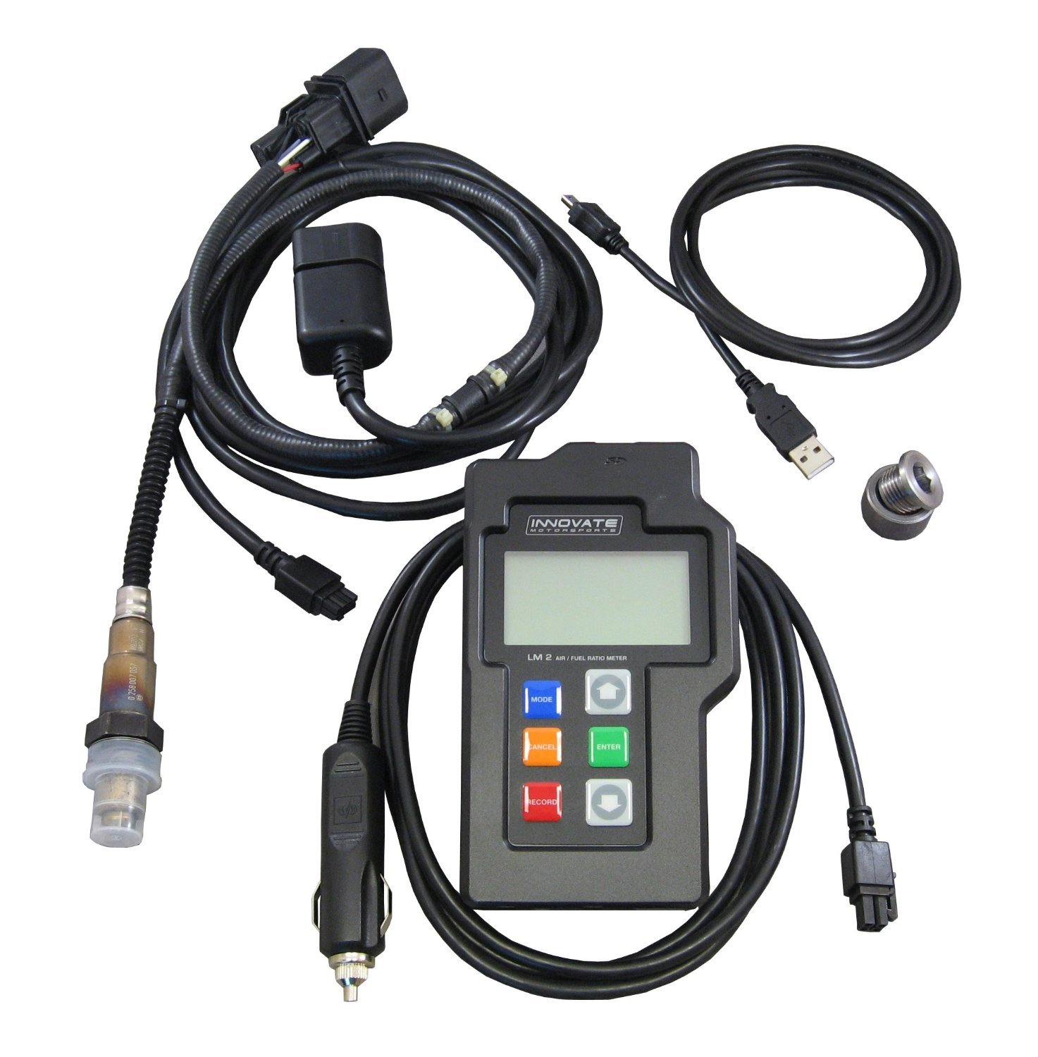 Innovate Motorsports (3837) LM-2 (BASIC) Digital Air/Fuel Ratio Wideband Meter incl. Bosch LSU 4.9
