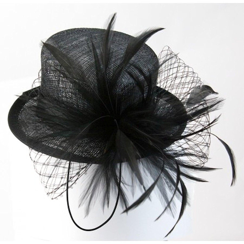 Conner Hats Womens Misty Nights Sinamy Hat Fascinator