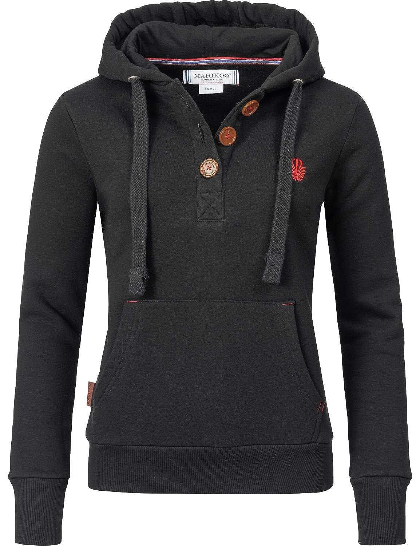 Marikoo Damen Sweatshirt Kapuzenpullover Yurikoo 5 Farben XS-XL B07MVZLFXV Kapuzenpullover Niedrige Kosten