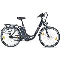 Zündapp E-Bike Alu-City Green 3.0   26 Zoll   Packtasche   2. Akku   Anfahrhilfe   250W Vorderradmotor   Elektrofahrrad   7-Gang Schimano Nexus Nabenschaltung   Samsung Side-Click Lithium-Ionen-Akku