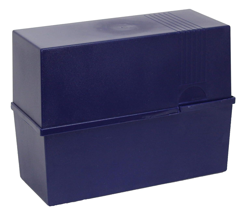 schwarz Farbe Herlitz Karteikasten DIN A5 Lernbox