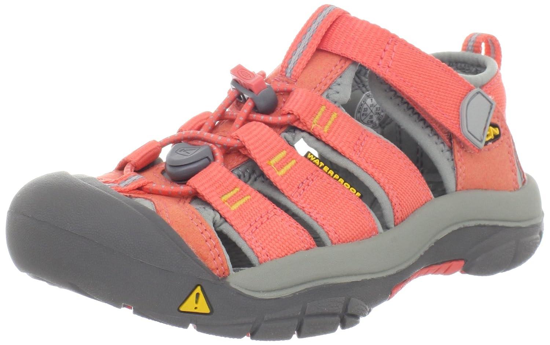 sale retailer 8076b d5713 KEEN Unisex - Child NEWPORT H2 T-HOT CORAL/YELLOW Sandals ...