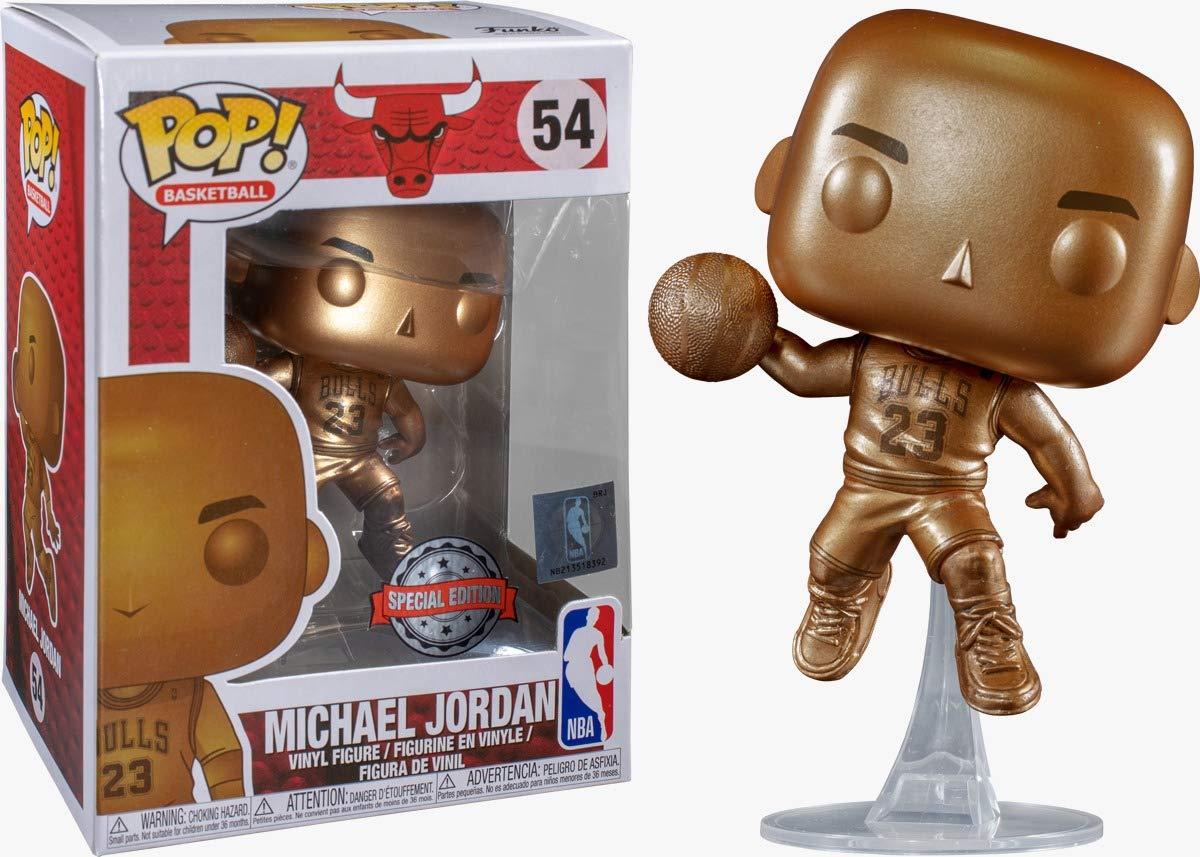 Funko Figura Pop Michael Jordan Bronzed Exclusivo - NBA: Amazon.es ...