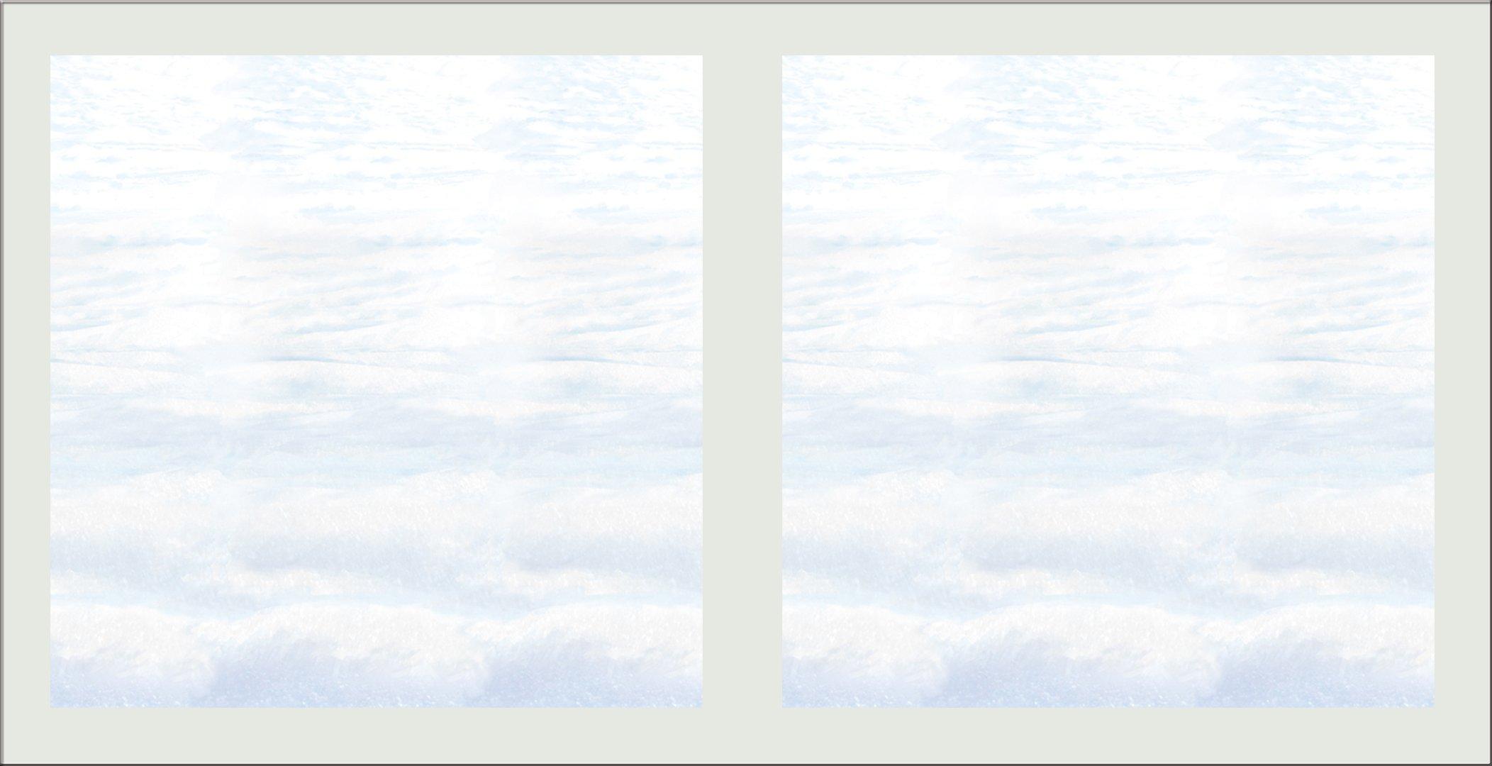 Beistle S20200AZ2, 2 Piece Snowscape Backdrops, 4' x 30'