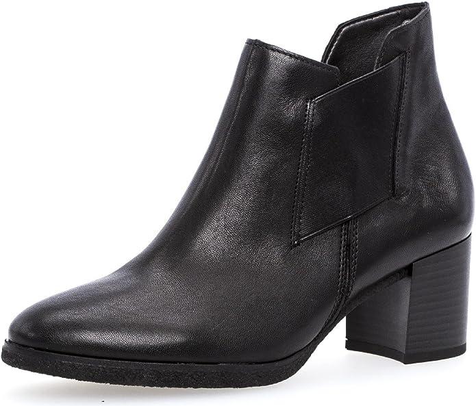 Gabor Damenschuhe 72.830 Damen Stiefeletten, Boots, Stiefel, in Comfort Mehrweite, mit Reißverschluss