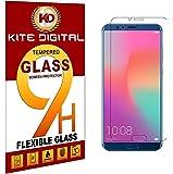 Kite Digital Honor View 10 Premium Tempered Glass Screen Protector Slim 9H Hardness 2.5D