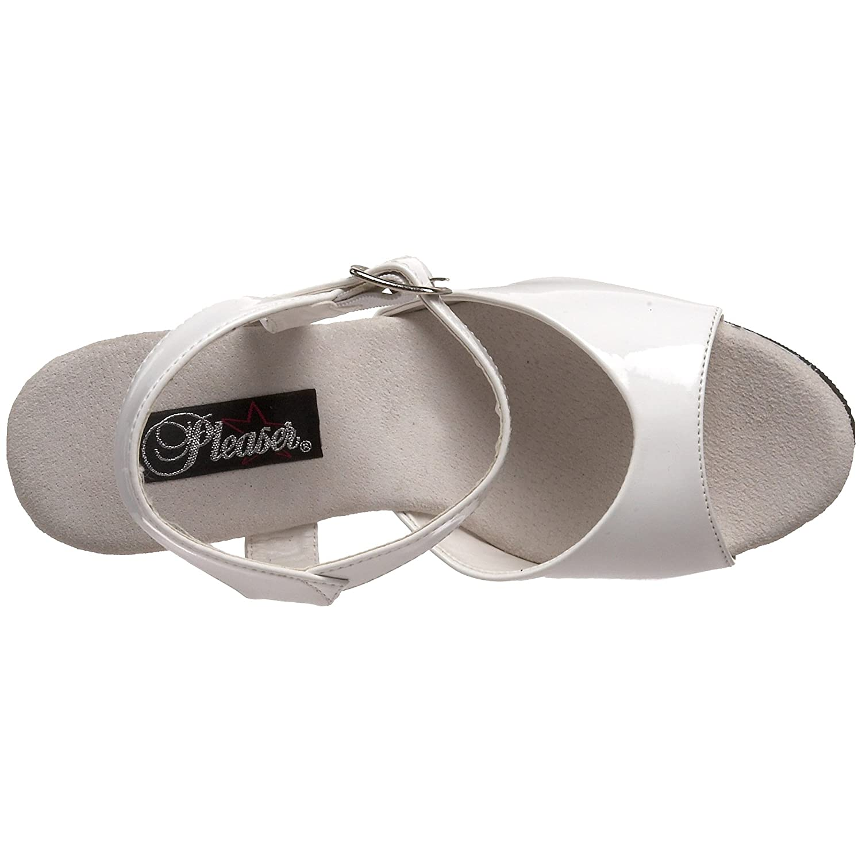 Pleaser Women's Xtreme-809WM Platform Sandal B000XUN7S4 14 B(M) US White Patent