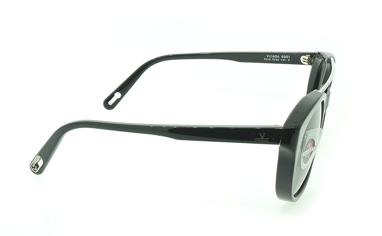 Vuarnet Pure Grey VL1606 0001 Black with Black lenses