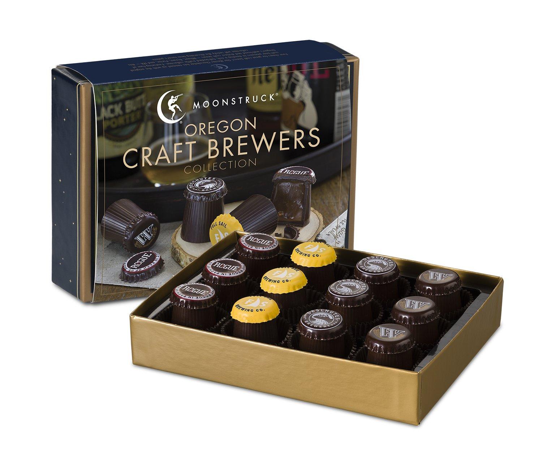 Amazon.com : Moonstruck Chocolate 12-pc Oregon Craft Brewers ...
