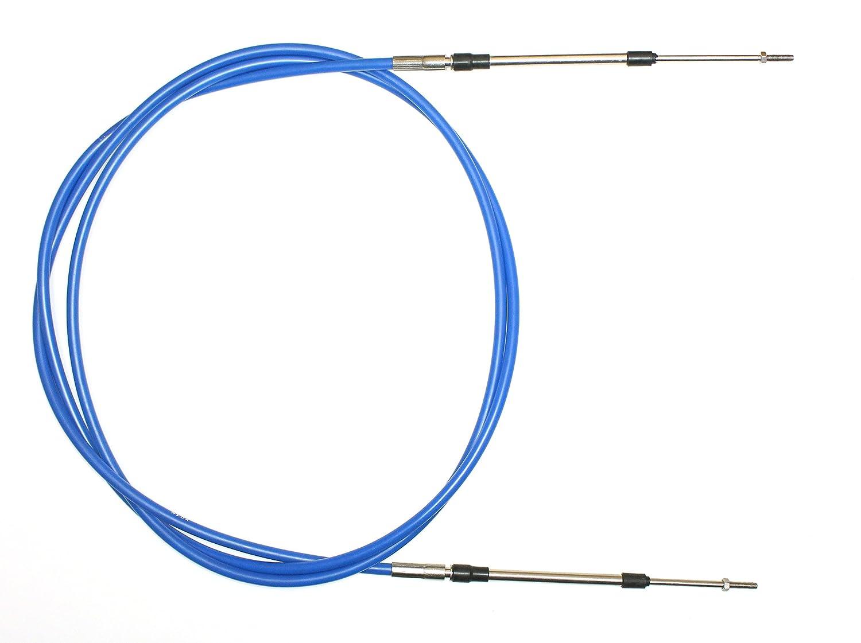 Steering Cable Compatible with Kawasaki 650 TS 1989-1996 OEM# 59406-3714