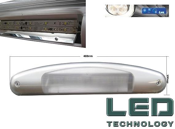 Plafoniera Led Esterno Camper : Plafoniera per esterno veranda camper ultra luminosa a led made in