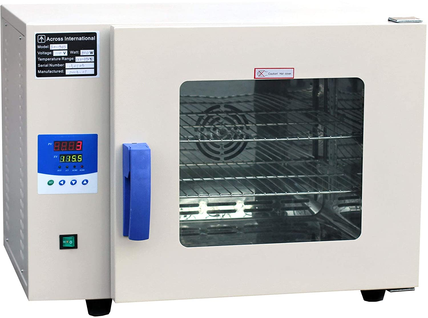 """200°C 12x11x11"""" 0.9 Cu Ft Lab Digital Forced Air Convection Drying Sterilizing Oven 110V 50/60Hz 500 watts"""