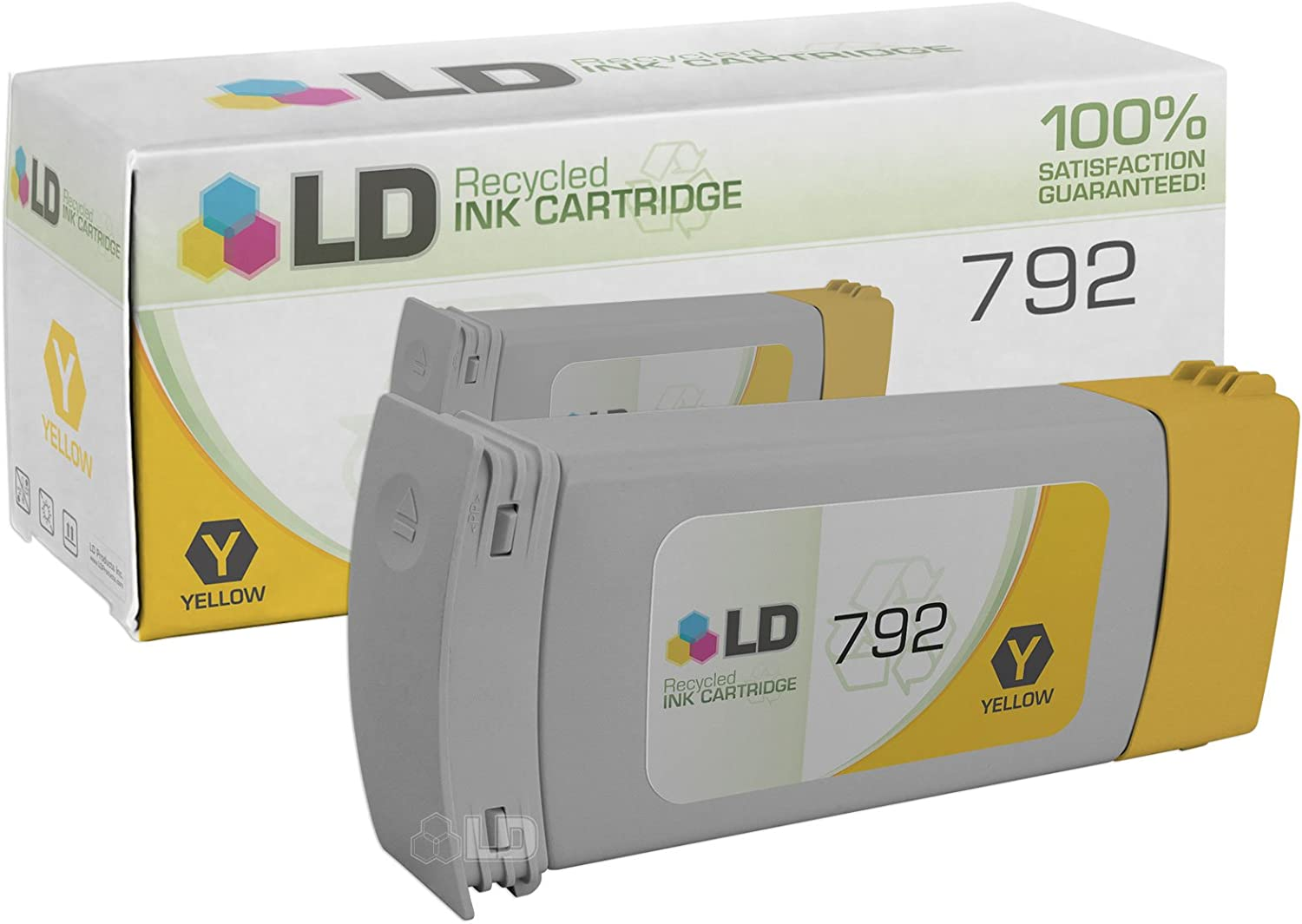 LD Remanufactured Ink Cartridge Replacement for HP 792 CN708A (Yellow)